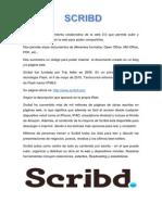 Scribd es una herramienta colaborativa de la web 2.docx