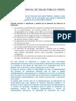 FUNCION ESENCIAL DE SALUD PÚBLICA.doc