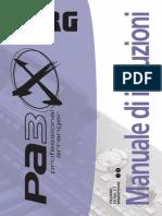 Pa3X manuale v110
