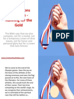 Bible Lessons for Youth - Running for the Gold