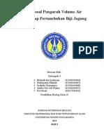 proposal praktikum pertumbuhan  jagung volume air.doc
