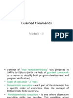 Guarded Commands