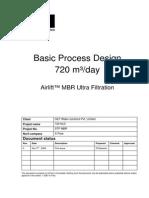 720 KLD Basic Process Design AirLift