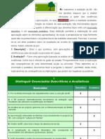 Distinguir descrição e avaliação