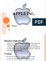 Group 7 Ppt on APPLE..