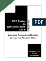 Municipal Accounting System