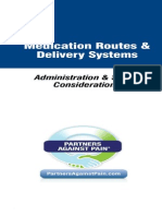 Medication Routes and Delivery Systems