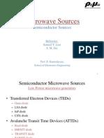 Microwave Sources Gunn Diode
