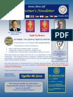 DG Newsletter Issue 3- Oct 2014