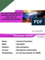 Presentasi PI BD