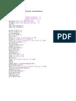 Matlab Updated Programs