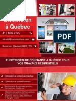 Entrepreneur électricien résidentiel et commercial
