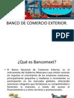 BANCO DE COMERCIO EXTERIOR.pptx
