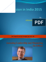 Asmission in India
