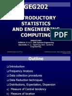 Geg202 Statistics