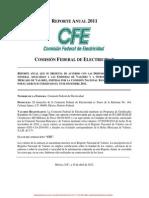 Comisión Federal de Electricidad Reporte Anual 2011.pdf