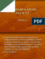 Abordarea Medic Pacient