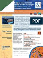 Consumul de energie al lanturilor logistice