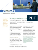 Accenture Postal Poste Italiane Next Generation Postal Services