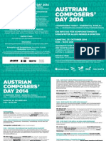 Austrian Composers' Day 2014