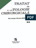 Tratat de Patologie Chirurgicala Angelescu Vol II