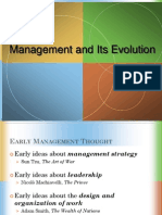 Management and Its Evolution