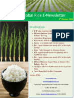 3rd October,2014 Daily Global Rice E-Newsletter by Riceplus Magazine