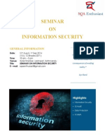 Seminar on Information Security - Details