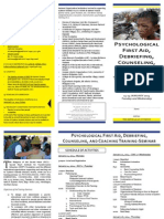 PFA Training Brochure 2014