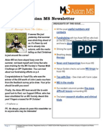Asian MS Newsletter Issue 3, 2014
