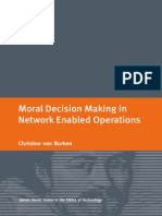 Moral Decision Making in Network Enabled Operations