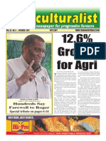 The Agriculturalist - October 2014