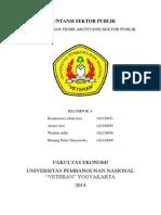 Kelompok 4 Pengembangan Teori Akuntansi Sektor Publik