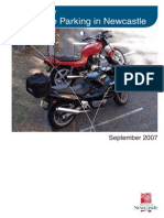 Motorcycle Parking Guidelines Final Sept 2007 Nctc Approved