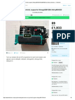 Arduino as ISP Shield, Supports Atmega328_1284 Attiny85_4323 by Mantas Jurkuvenas — Kickstarter