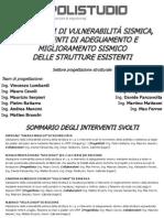 Valutazioni Di Vulnerabilità Sismica, Interventi Adeguamento-miglioramento Strutture Esistenti - Ing. Maurizio Serpieri - Polistudio