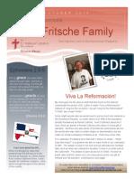 Fritsche Mission Newsletter - October 2014
