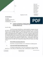 United Monroe Response to Kiryas Joel Scoping Outline