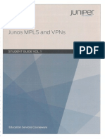 Mpls VPN Junos Vol1