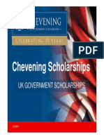 Chevening Scholarships Presentation