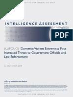 DHS Intelligence Assessment
