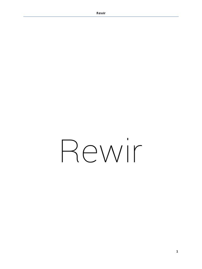 Rewirpdf