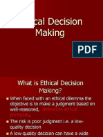 Ethical Decision Making | Decision Making | Morality