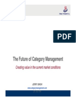Future of Category Management