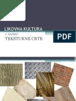 Teksturne crte