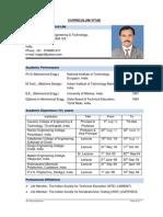 CV of Dr.vijayaraghavan