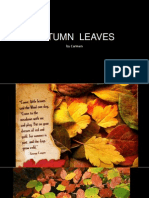 AUTUMN  LEAVES.ppt