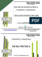 Hercon Situacion politica Vzla Septiembre 2014.pdf