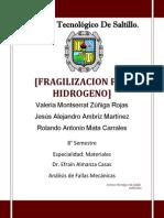 Fragilizacion Por Hidrogeno Doc