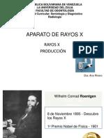 Clase 1,2,3 historia, aparatos, produccion de rayos x 2012.ppt